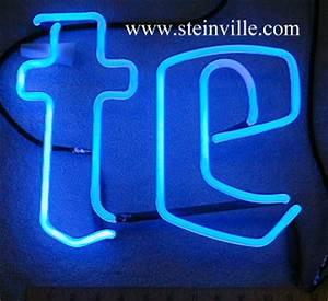 Miller neon beer sign tubes & parts
