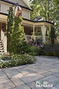 Aménagement Jardin Extérieur : am nagement ext rieur d 39 un jardin en fa ade plani paysage ~ Preciouscoupons.com Idées de Décoration