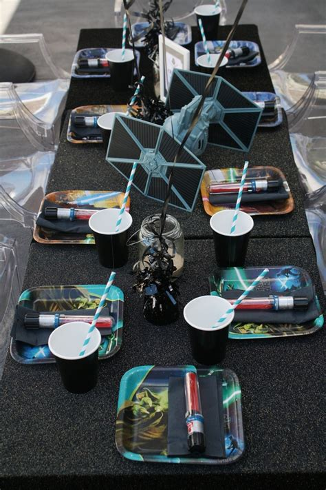 star wars table l star wars birthday children 39 s table setting styled by mon