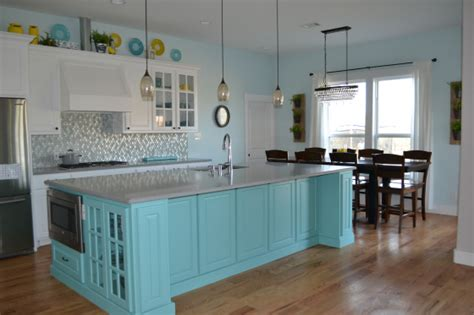 teal kitchen island white kitchen with teal island design myloveforcreativity 2684