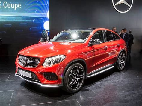 mercedes benz gle coupe athletic crossover bows