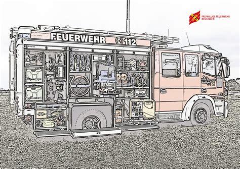 Insgesamt mit uber 65000 ausmalbildern malvorlagen eine der grossten sammlungen. Feuerwehr-Ausmalbilder - Freiwillige Feuerwehr Neulingen