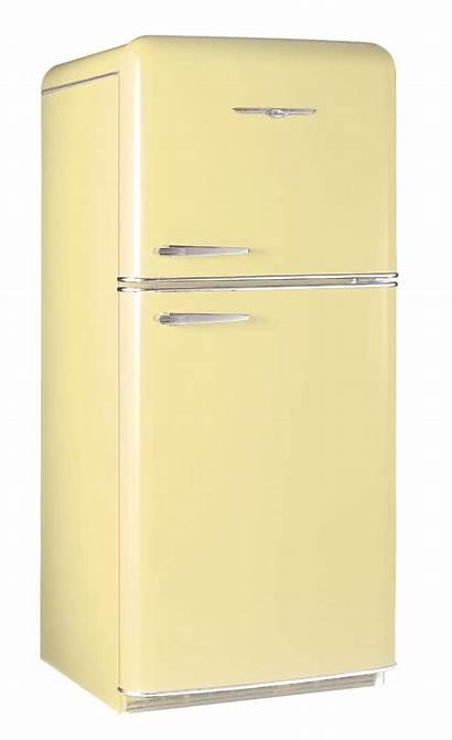 Refrigerators Yellow Fridge Refrigerator Retro Northstar 1952