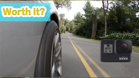 gopro hero black hyper smooth car footage review vlog