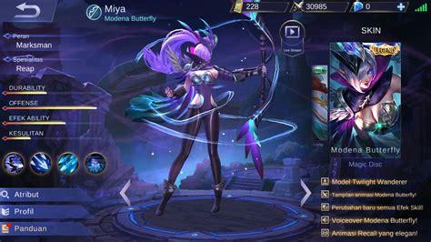 Miya Legendary Skin