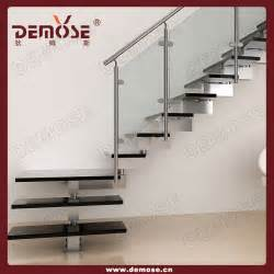 Modern Single Stringer Shaped Steel Wood Staircase Buy Stainless Steel Small Space Stair Eclectic Staircase Design Ideas For Your Modern House