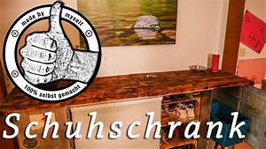 Schuhschrank Aus Paletten : schuhschrank selber bauen schuhregal aus weinkisten und paletten palettenm bel youtube ~ Buech-reservation.com Haus und Dekorationen