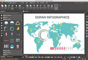 Free Brochure Maker Download Download Edraw Infographic For Windows 9 3