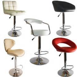 kitchen bar furniture faux leather kitchen breakfast bar stool barstools pu swivel new stools ebay