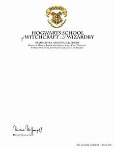 FREE Printable Harry Potter – Hogwarts Invitation Template FREE Invitation Templates  Drevio