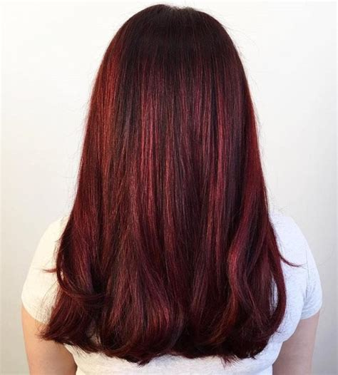 auburn hair colors  emphasize  individuality