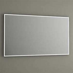 miroir lumineux led salle de bain eclairage led anti buee With miroir led salle de bain