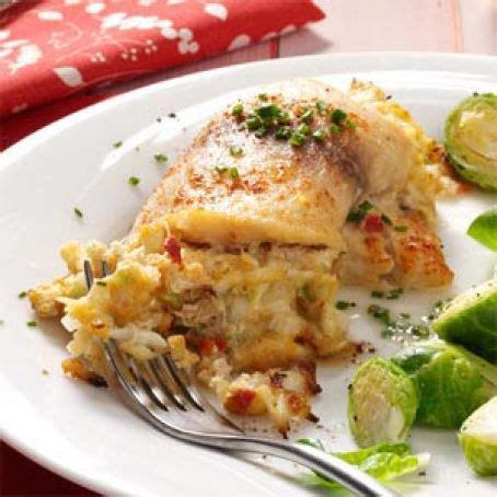 Just wipe them clean with a damp towel. Crab-Stuffed Tilapia Recipe - (4.3/5)