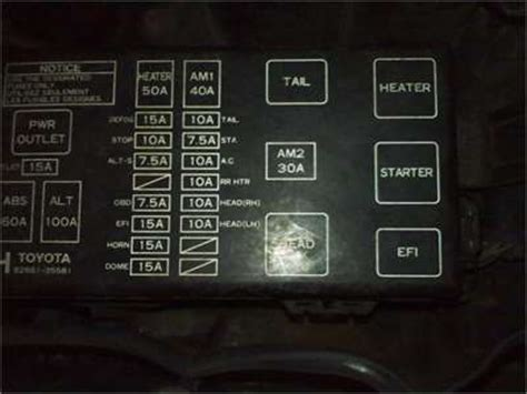 1997 Toyotum 4runner Fuse Box Diagram Alarm by Solved Lights Lights Quit Working I Ve Fixya