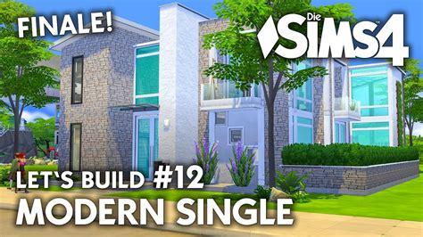 Die Sims 4 Haus Bauen  Modern Single #12  Let's Build