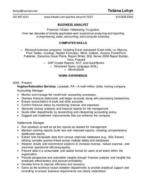 Data Analyst Resume Linkedin by Data Analyst Resume Sept 2016
