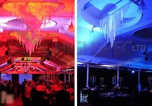 Fire and Ice christmas theme decor
