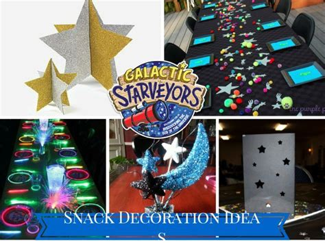 Decorating Ideas For Vbs 2015 by Vbs 2017 Galactic Starveyors Snack Decorations Vbs 2017