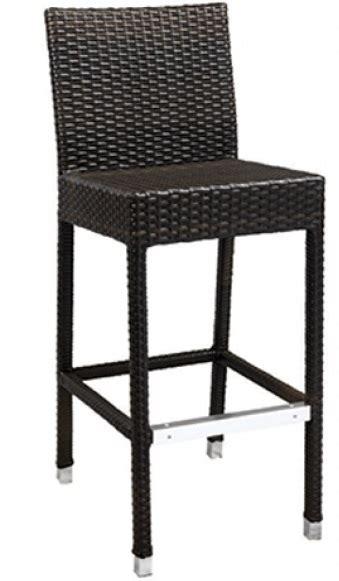 outdoor restaurant wicker bar stool