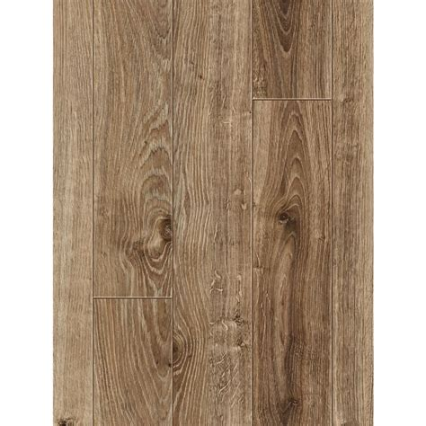 lowes flooring allen roth lowes 1 89 allen roth 4 96 in w x 4 23 ft l handscraped driftwood oak wood plank laminate