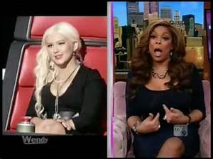 Wendy Williams discusses The Voice and Christina ...