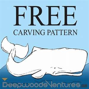 Free whale carving pattern wood carving projects for Soap whittling templates