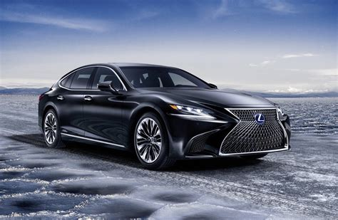 Lexus Car : 2018 Lexus Ls 500h Hybrid Revealed, Offers Ev Mode Up To