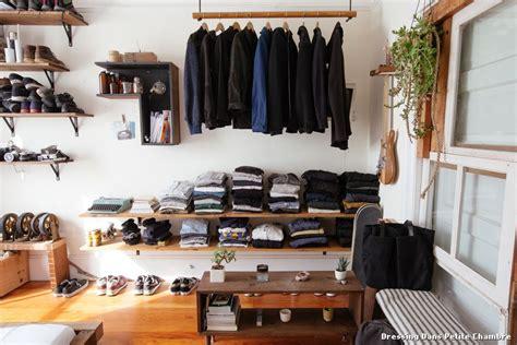 dressing dans chambre dressing chambre idees accueil design et mobilier