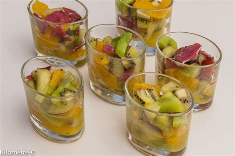 cuisine verrine verrine kiwis oranges et magret de canard kilometre 0 fr