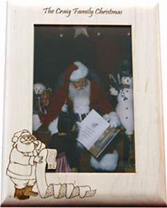 Personalized Christmas Picture Frame Craft E Family