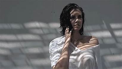 Lauren Cohan Nipples Gq Boobs Tits Through