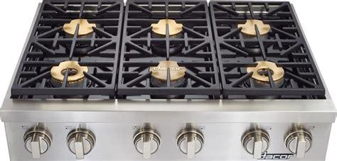 dacor dyrtpsngh   gas rangetop   sealed burners  btu smartflame technology