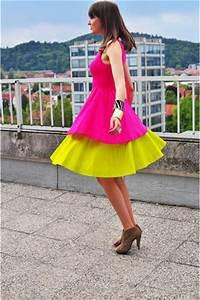 Yellow COS Skirts Hot Pink Zara Dresses Camel Asos Heels