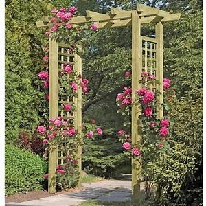 Rosen Für Rosenbogen : rosenbogen holz die sch nsten b gen im berblick ~ Orissabook.com Haus und Dekorationen
