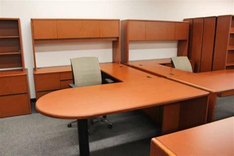 hon  series  shaped peninsula desk desks