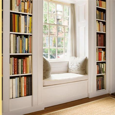 Built Ins Around Windows  Creative Home Decoration And