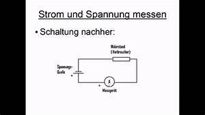 Spannung Messen Multimeter : strom spannung messen youtube ~ A.2002-acura-tl-radio.info Haus und Dekorationen
