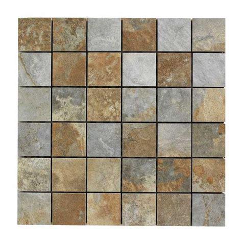 mosaique ardoise salle de bain mosa 239 que imitation ardoise 29 80 x 29 80 cm castorama