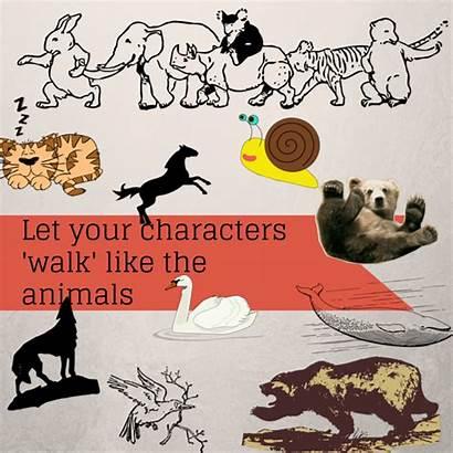 Walk Animals Let Characters Fun