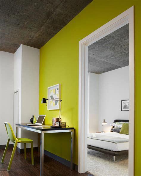 chambre mur vert déco chambre mur vert