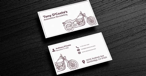 10 Automotive Business Card Templates Matte Black Business Cards Best For Personal Trainers Blank Colored Astrum Doctors Plastic Music Artist Card Printing In Amsterdam