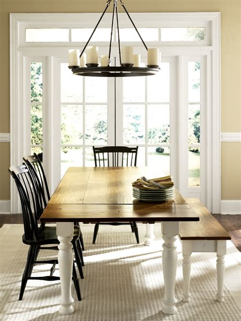rooms to go farmhouse table ideas for space saving extension tables made by custommade