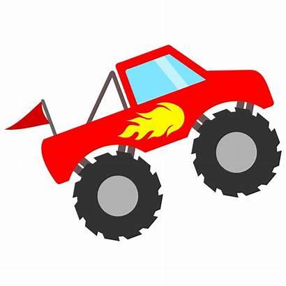 Monster Truck Clipart Trucks Flames Svg Silhouette
