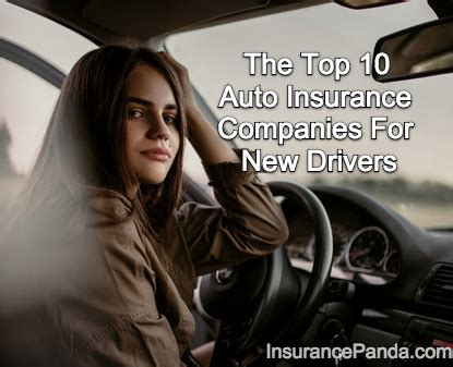 Best Car Insurance Companies For Drivers by Top 10 Auto Insurance Companies For New Drivers