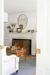 Fall, Mantel, Decor, With, Traditional, Style