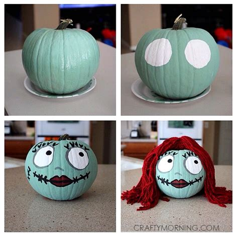 pumpkins decorated for christmas clever no carve painted pumpkin ideas for pumpkin ideas sally skellington and holidays