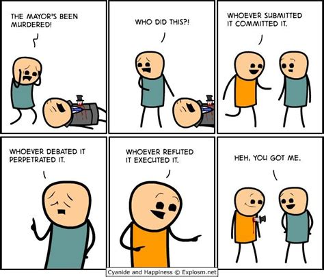 Cyanide And Happiness Memes - 405 best images about cyanide and happiness on pinterest funny memes jokes and cyanide and