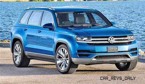 Volkswagen Mid-size Suv Will Seat 7, Be Built In