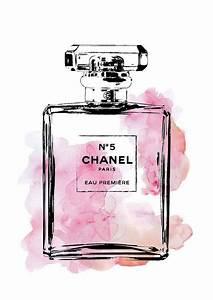 Coco Chanel Bilder : chanel poster 24x36 coco chanel no5 illustration chanel bilder chanel parf m und chanel ~ Cokemachineaccidents.com Haus und Dekorationen