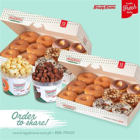 This service allows guests to enjoy krispy kreme goodies in their special events. Krispy Kreme reopens for delivery in Cebu | Sugbo.ph - Cebu